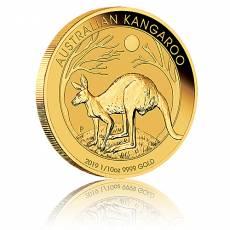 Australien Känguru 1/10 Unze Goldmünze (2019)