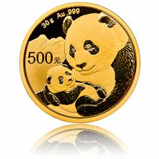 China Panda 30 gramm Gold (2019)
