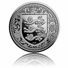 1 Unze Silber Gibraltar Royal Arms of England 2018