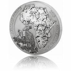 1 Unze Silbermünze 999/1000 Ruanda Schuhschnabel 2019