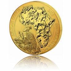 1 Unze Goldmünze Ruanda Schuhschnabel 2019