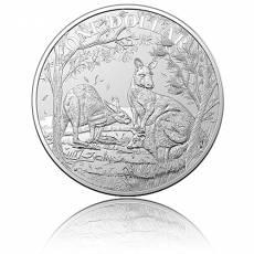 1 Unze Silbermünze Austral. Känguru RAM Seasons Change  (2019)