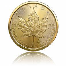 Maple Leaf 1 Unze Gold (2019)