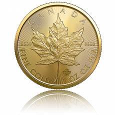 Maple Leaf 1 Unze Gold (2019)