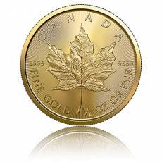 1/2 Unze Gold Maple Leaf 2020