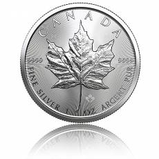 1 Unze Silbermünze Maple Leaf 2019