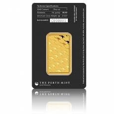 1 Unze Goldbarren Perth Mint - Känguru 999,9/1000