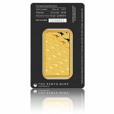 50 gramm Goldbarren Perth Mint - Känguru 999,9/1000