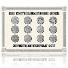 Mitteldeutsche Feinsilberunze Jahressatz 2017