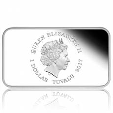 Jahr des Hahnes 1 oz Silver Rectangular Proof 4 Coin-Set 2017