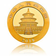 China Panda 15 gramm Gold (2019)