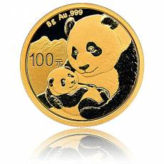 China Panda 8 gramm Gold (2019)