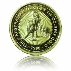 Goldmünze 1/4 oz Australien Känguru (1996)