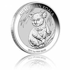 Australischer Koala 1 Unze Silber (2019)