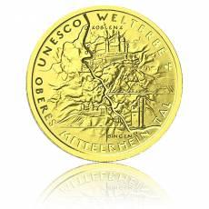 100 Euro Gold Oberes Mittelrheintal 2015 (A) (1/2 Unze)