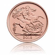 Goldmünze 1 Pfund Sovereign Elisabeth (versch. Jahre)