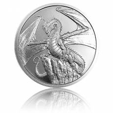 1 Unze Silber The Welsh - World of Dragons 2. Motiv Golden State Mint