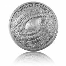 1 Unze Silber The Welsh - World of Dragons 2. Motiv Golden State Mint