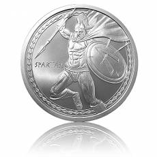 1 Unze Silber The Spartan - Warrior Series 1. Motiv Golden State Mint