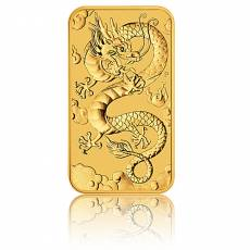 1 oz Goldmünze Perth Mint - Rectangular Dragon 2019