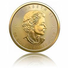 Goldmünze 1 Unze Maple Leaf - Jubiläum 40 Jahre 2019