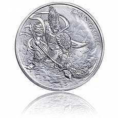 1 Unze Silber Südkorea - Gallus 1. Ausgabe 2017