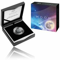 Silbermünze 1 oz Earth & Beyond 2. Ausgabe Der Mond Gewölbt PP (2019)