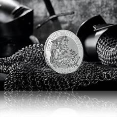 10 Unzen Silbermünze Großbritannien Valiant 2019