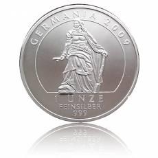 1 Unze Silber Deutschland Germania Proof 2009