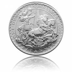 Britannia 1 Unze Silber (2009)