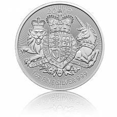 1 Unze Silbermünze Großbritannien Royal Arms (2019)