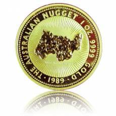 Australien Nugget 1 Unze Goldmünze (1989)