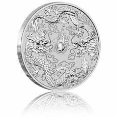 1 oz Silber Australien Perth Mint Dragon & Dragon - Doppel-Drache (2019)