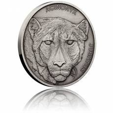 1 oz Silbermünze Animal champions- Cheetah 2019
