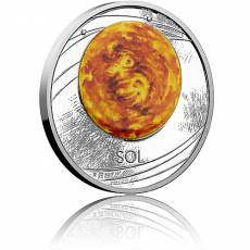1 oz Silbermünze Solar System 1. Motiv Polierte Platte (2019)