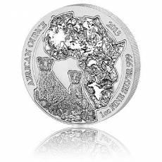 1 Unze Silbermünze 999/1000 Ruanda Gepard 2013
