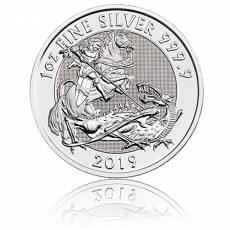 1 oz Silbermünze Großbritannien Valiant 2019