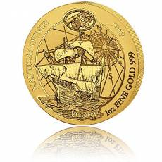 1 Unze Goldmünze Ruanda Nautical Ounce 500 Jahre Victoria 2019