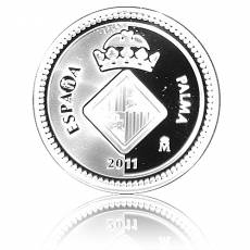 5 Euro Spanien Castell de Bellver Polierte Platte (2011) F15 Münzkapsel