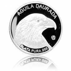 Silbermünze Andorra Steinadler polierte Platte Privy F15 in orginal F15 Kapsel (2011)