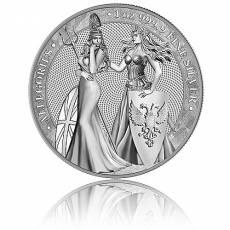 1 Unze Silbermünze Allegories 5 Mark (2019) 1. Ausgabe