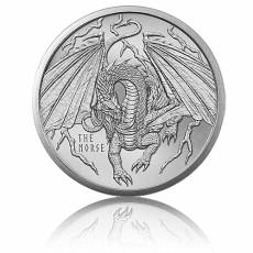 1 Unze Silber The Norse - World of Dragons 4. Motiv Golden State Mint