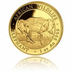 Somalia Elefant 1 Unze Gold (2020)