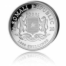 Somalia Elefant (2020) 1kg Silber 999.9/1000
