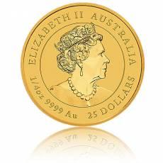 1/4 Unze Goldmünze Australien Lunar III Maus (2020)