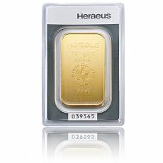 100 gramm Heraeus - Goldbarren 999,9/1000