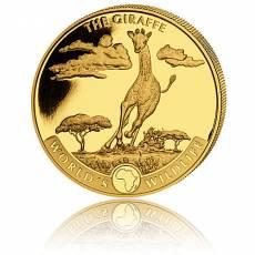 1 Unze Goldmünze Kongo World´s Wildlife - Giraffe 1. Ausgabe (2019)