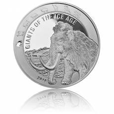 1 Unze Silbermünze Giganten der Eiszeit - Wollmammut (2019)