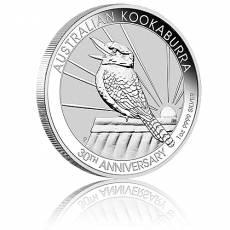 1 Unze Silbermünze Austral. Kookaburra 2020