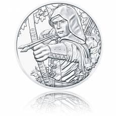 Silbermünze 1 Unze 825 Jahre Münze Wien Robin Hood 2019